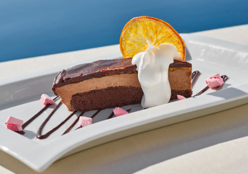 CHILLED SACHER MOUSSE
